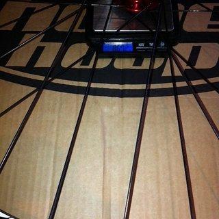Gewicht Hope Systemlaufräder Hoops Pro 2 Evo + ZTR Flow VR, 110mm/20
