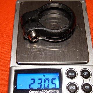 Gewicht Cannondale Sattelklemme Sattelklemme 31.8mm