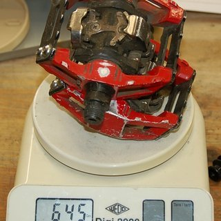 Gewicht Shimano Pedale (Klick) DX PD-M636