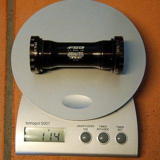 Gewicht FSA Innenlager Quad BB-7550 HTII, 83mm, BSA