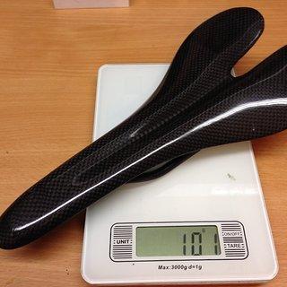 Gewicht Volcar Sattel Seatbum II Carbon Sattel  125 x 265mm