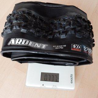 """Gewicht Maxxis Reifen Ardent EXO Protection TLR 27,5x2,4"""""""