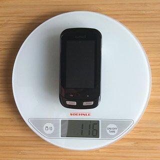 Gewicht Garmin GPS Edge 1000