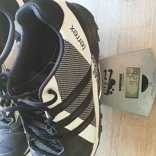 Gewicht Adidas Bekleidung Terrex Trail Cross  42 2/3