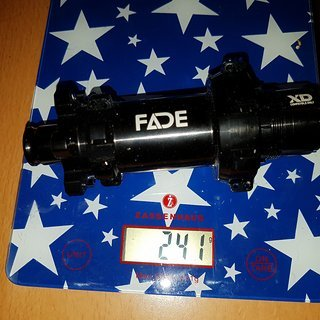 Gewicht Newmen Full-Suspension Fade Straitpull Boost HR 12x148