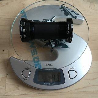 Gewicht e-thirteen Innenlager XC+ BSA BB BSA 68/73