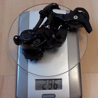 Gewicht SRAM Schaltwerk GX 2x10 Type 2 Long Cage