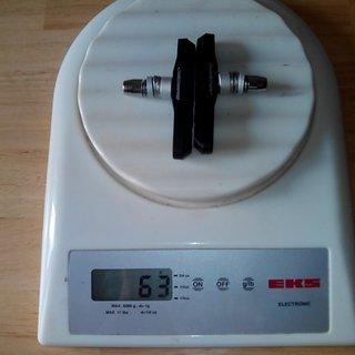 Gewicht Jagwire Bremsbelag Mountain Sport 72mm
