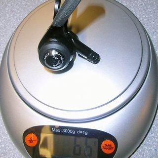Gewicht MicroShift Schalthebel SL-N08 8-fach