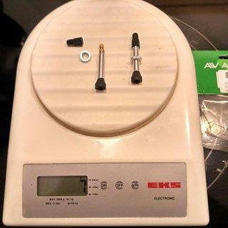 Gewicht Airwave Weiteres/Unsortiertes Universal Tubeless Ventil 35mm Aluminium