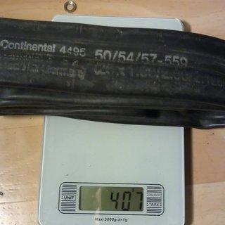 """Gewicht Continental Schlauch MTB 26 """"4495"""" AV/26x1.90-2.125"""""""