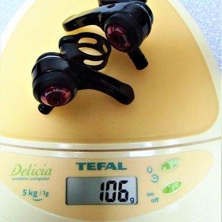 Gewicht MicroShift Schalthebel SL-A10 (tuned) 3x10-fach
