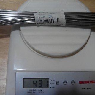 Gewicht Prym Speiche ED Speiche 266mm, 64 Stück