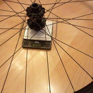 "Gewicht SunRingle Systemlaufräder A.D.D. EXPERT 26"", VR, 110mm/20"