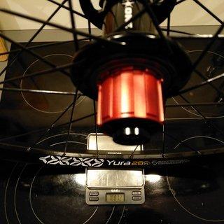 """Gewicht On-One Systemlaufräder MAX Single Speed - Ryde Yura 28 - cnSpoke DB454 28"""", HR, 135mm/10mm"""