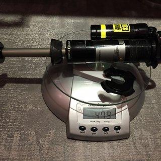 Gewicht Rock Shox Dämpfer Vivid R2C 267x89