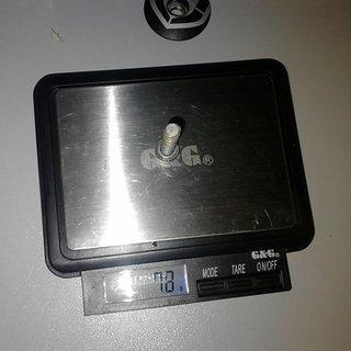 Gewicht Mondraker Schrauben, Muttern zylindrische Inbusschraube M6x35, Stahl