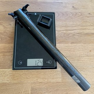 Gewicht Mcfk Sattelstütze Gerade UD 31,6 x 360 mm