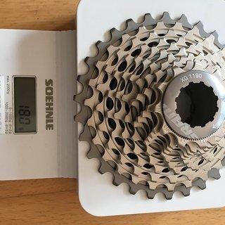 Gewicht SRAM Kassette XG-1190 (Red 22) 11-30