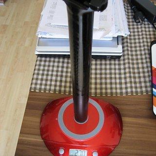Gewicht Cannondale Sattelstütze C2 31.6 x 350mm