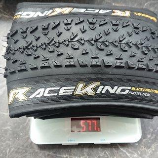 Gewicht Continental Reifen Continental Race King ProTection 29x2.2 Zoll 29x2.2