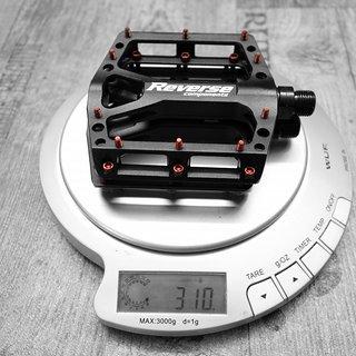 Gewicht Reverse Components Pedale (Platform) Black ONE 30083