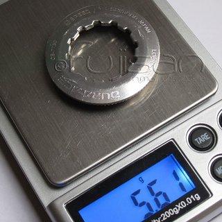 Gewicht Shimano Kassettenabschlussring Dura Ace CS-7700 12Z
