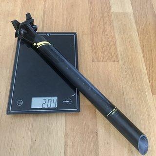 Gewicht Syncros Sattelstütze Duncan 1.0 Carbon 31,6 x 400 mm