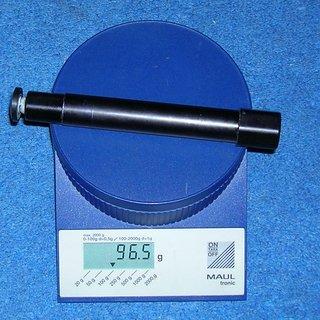 Gewicht Manitou Achse Nixon Super Hex-Lock 110 x 20mm