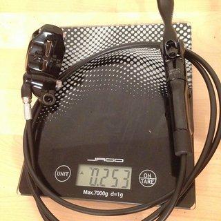 Gewicht SRAM Scheibenbremse Guide RSC HR