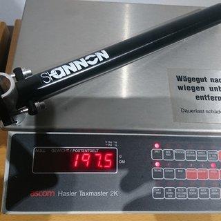 Gewicht Shannon Sattelstütze Road Light 27,0 x 300 mm