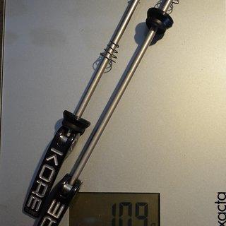 Gewicht Kore Schnellspanner Schnellspanner 100/135