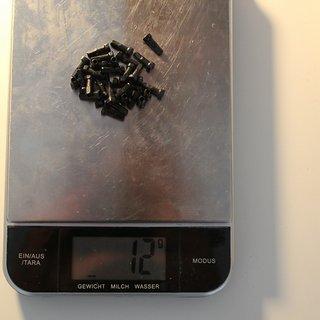 Gewicht Sapim Speichennippel Polyax Hexagon Alu 32x, 2mm, 14mm