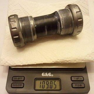 Gewicht Truvativ Innenlager GXP BB XR GXP, 68/73mm, BSA