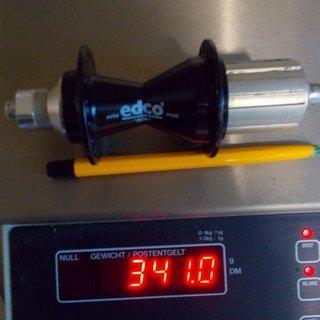 Gewicht Edco Nabe racer 135mm/QR, 32-Loch