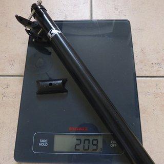 Gewicht M-Wave Sattelstütze Sattelstütze Alu 25,4x350 mm
