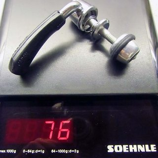 Gewicht Shimano Sattelklemme SQ-M730