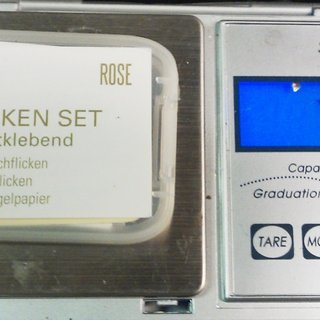 "Gewicht Rose Werkzeug Flicken-Set ""Patch Kit"""