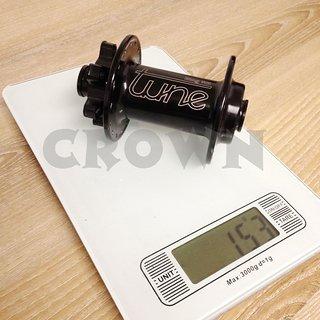 Gewicht Tune Nabe King MK  100mm/15, 32-Loch