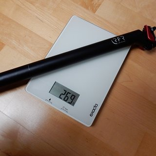 Gewicht Cube Sattelstütze RFR Prolight Sattelstütze  31,6 mm