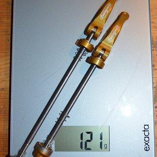 Gewicht Hope Schnellspanner Quick Release 100 / 135