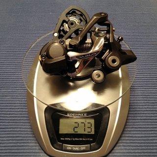 Gewicht Shimano Schaltwerk Saint RD-M820 SS1 Short Cage