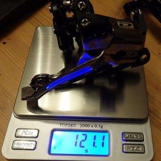 Gewicht Shimano Umwerfer XTR FD-M985-E2 E-Type 2