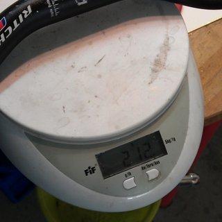 Gewicht Ritchey Lenker WCS Rizer 25,4 x 610mm
