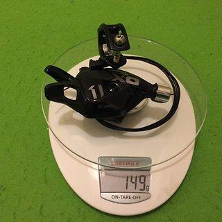 Gewicht SRAM Schalthebel X01 Trigger 11f.