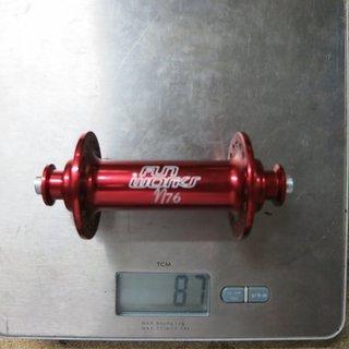 Gewicht Fun Works Nabe N76 100 QR