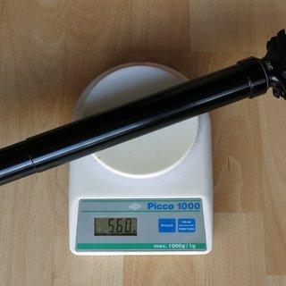 Gewicht OneUp Sattelstütze höhenverstellbar Dropper Post 170mm 31.6mm