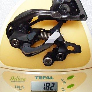 Gewicht Shimano Schaltwerk XTR RD-M981 GS Short Cage