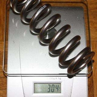 "Gewicht Cane Creek Feder Titanfeder 300 x 3.0"""