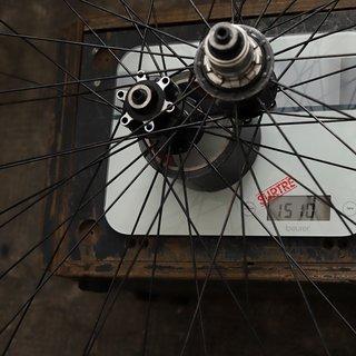 """Gewicht Vpace Systemlaufräder LRS Max26 26"""""""